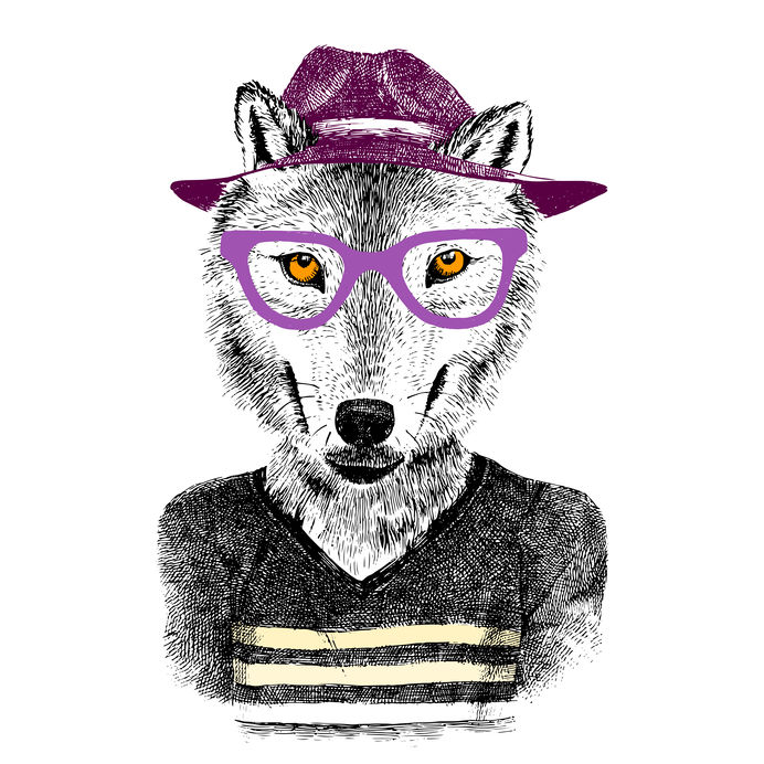Hipster Wolf Halloween Costume Ideas