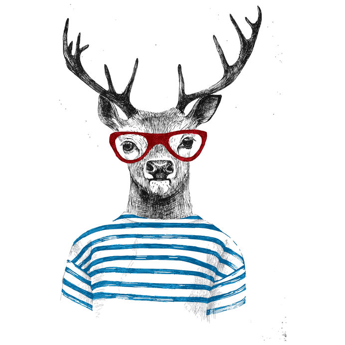 Hipster Deer Halloween Costume Ideas
